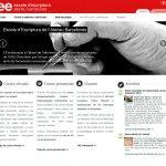Web Escola Escriptura de l'Ateneu Barcelonès